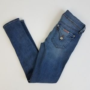 Hudson 27 light wash skinny jeans 011